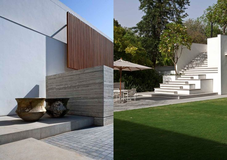 wooden slats India House   Bedmar & Shi