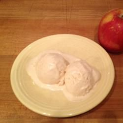 Apple Caramel Ice Cream Allrecipes.com | Ice Cream | Pinterest