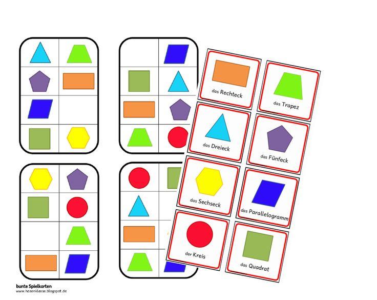 Ein Spiel für den Geometrieunterricht, differenziert für verschiedene Klassenstufen. Ziel ist es, die fehlende Fläche zu finden.    Viel Spa...