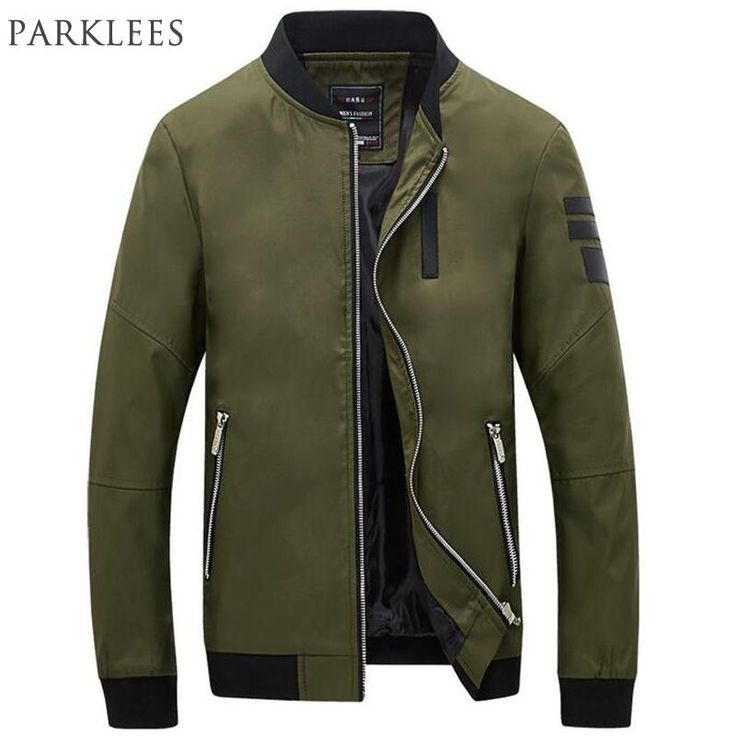 2018 New Bomber Jacket Men Veste Homme Autumn Mens Fashion Pu Leather Splice Windproof Zipper Varsity Baseball Jacket 5Xl