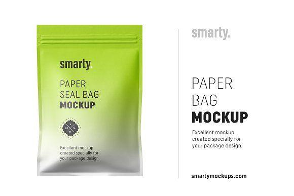 Download Paper Seal Bag Mockup Bag Mockup Mockup Box Mockup