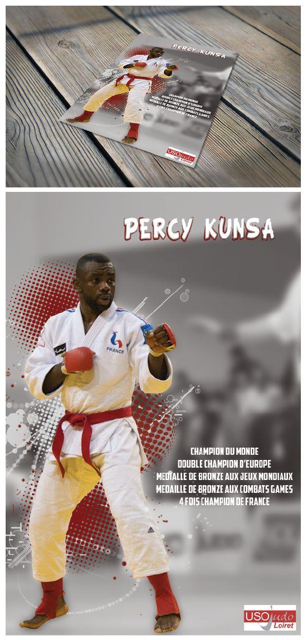 Flyer promotion athlète haut-niveau ju-jitsu #sport #ju-jitsu #flyer #palmarès