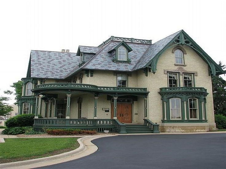 Carpenter Home Gothic Architecture ~ http://lanewstalk.com/the-moody-and-dark-gothic-architecture/