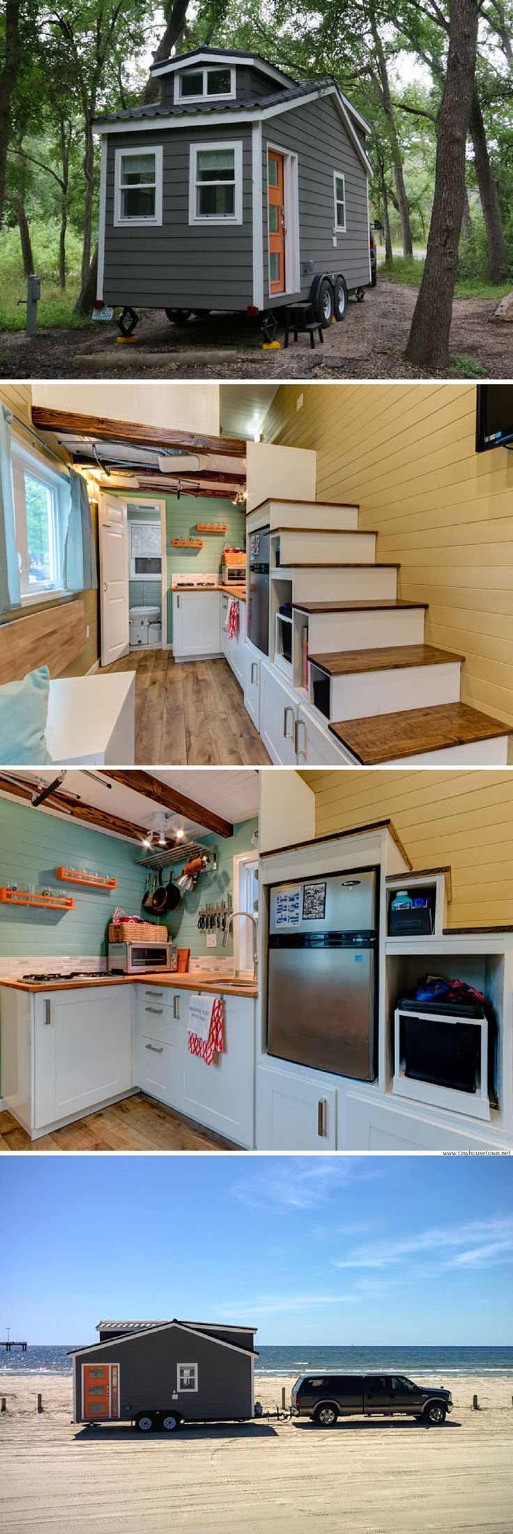 The Wanderlust tiny house (170 sq ft)