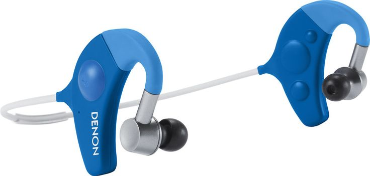 Denon AH-W150 Exercise Freak (Blue). Get your Freak on. Available in yellow, blue or black. Don't let wires get in the way of your workout. Get Bluetooth and get moving with Denon's AH-W150 Exercise Freak headphones.