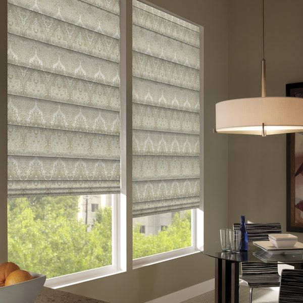 Custom Waverly Roman Shades Exclusively Available At Steveu0027s Blinds U0026  Wallpaper! #waverly #waverlyblindsandshades