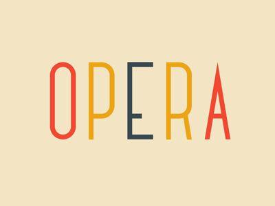 Opera: Simple Logos, Multiplication Color, Idea, Colleges, Words Bees, Logos Design, Strawberrylemon Sangriagreat, Fonts, White Strawberrylemon