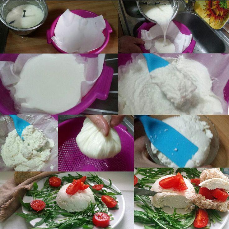 La ricotta è un prodotto latteo molto simile al formaggio;ma molto più leggera e digeribile, ampiamente usata nella cucina italiana per preparazioni sia dolci sia salate