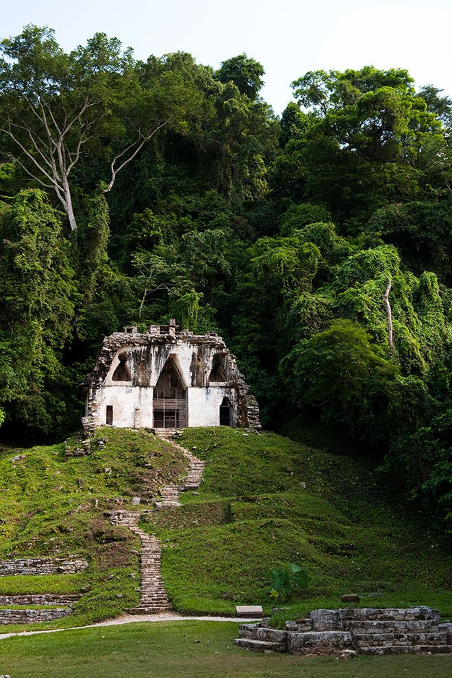 Palenque (Mexico) | 31 Breathtaking Photos Of Abandoned Locations