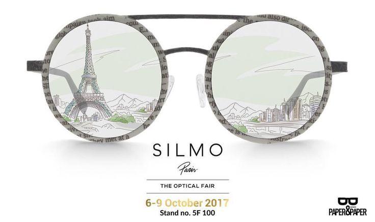 "7 Me gusta, 1 comentarios - Paper & Paper Eyewear (@paperandpapereyewear) en Instagram: ""We're ready for SILMO Paris 2017... and you? . . . . . #silmoparis #nosinmispaper #newspaper…"""