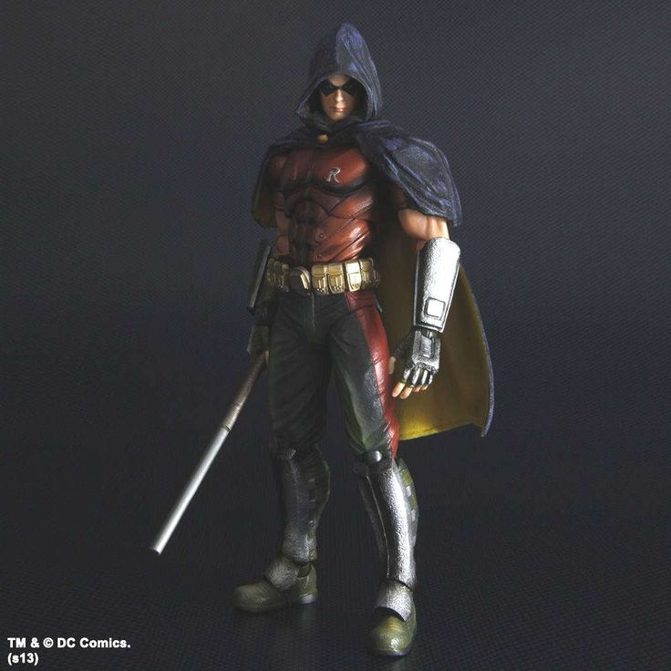 City - Robin - Figurine 24,4 cm Play Arts Kai Figurine Batman Arkham City - Robin - Figurine 24,4 cm