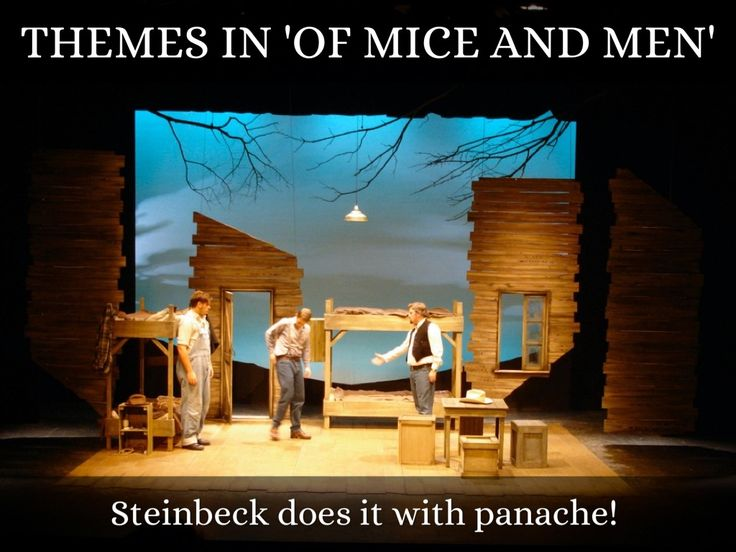 slide show for Of Mice and Men (IGCSE English Literature)