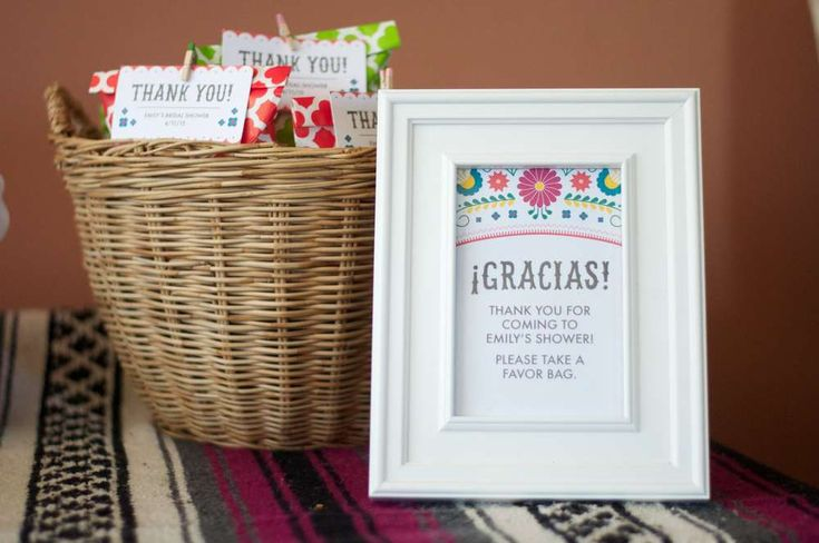 Mexican Fiesta Bridal/Wedding Shower Party Ideas | Photo 2 of 28 | Catch My Party