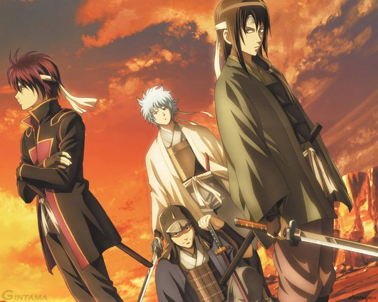 Gintama - http://desktopwallpapers.co/miscellaneous/gintama/ #Gintama