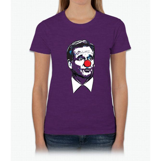 Matt Patricia Clown Shirt Womens T-Shirt