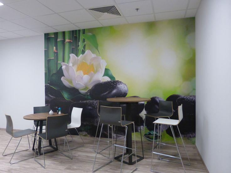 Realizacja zaplecza socjalnego  dla najemcy Janssen Cilag w biurowcu Wiśniowy Business Park