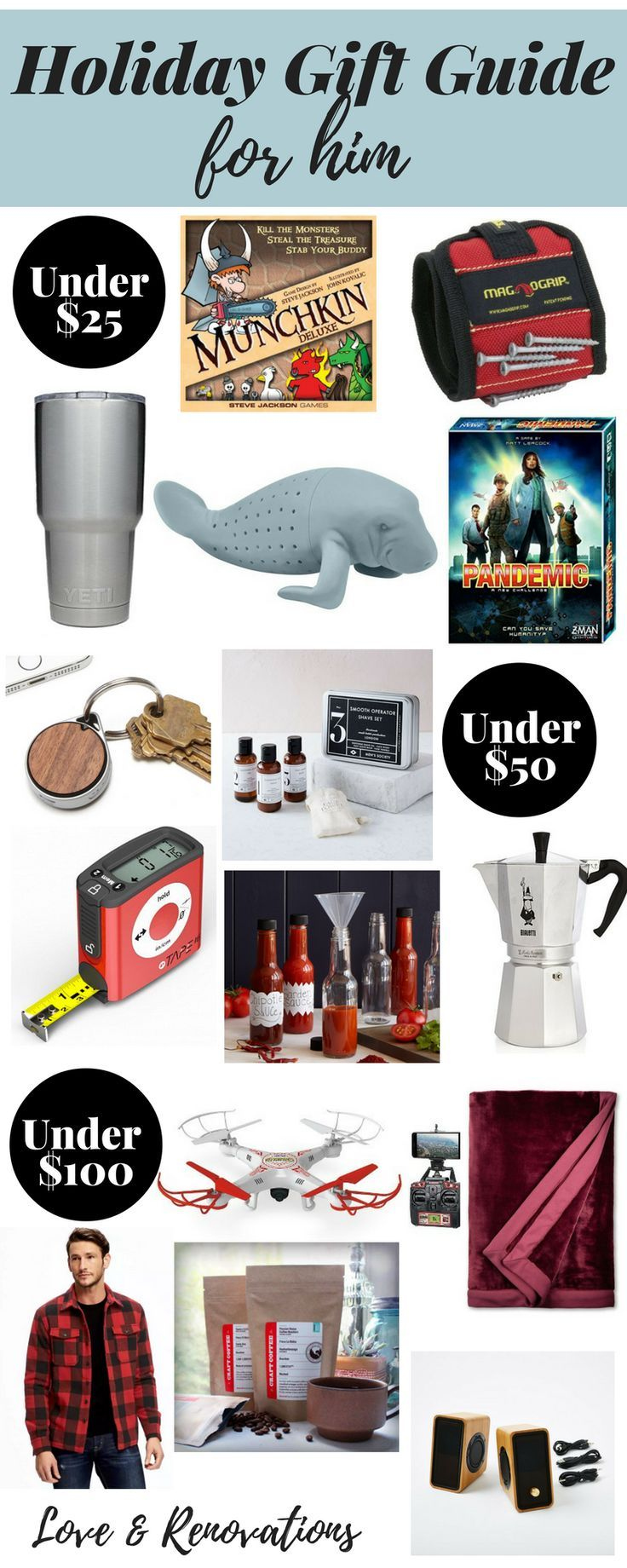 Christmas ideas for men who have everything - 2016 Holiday Gift Guide For Him Ideas For Christmas
