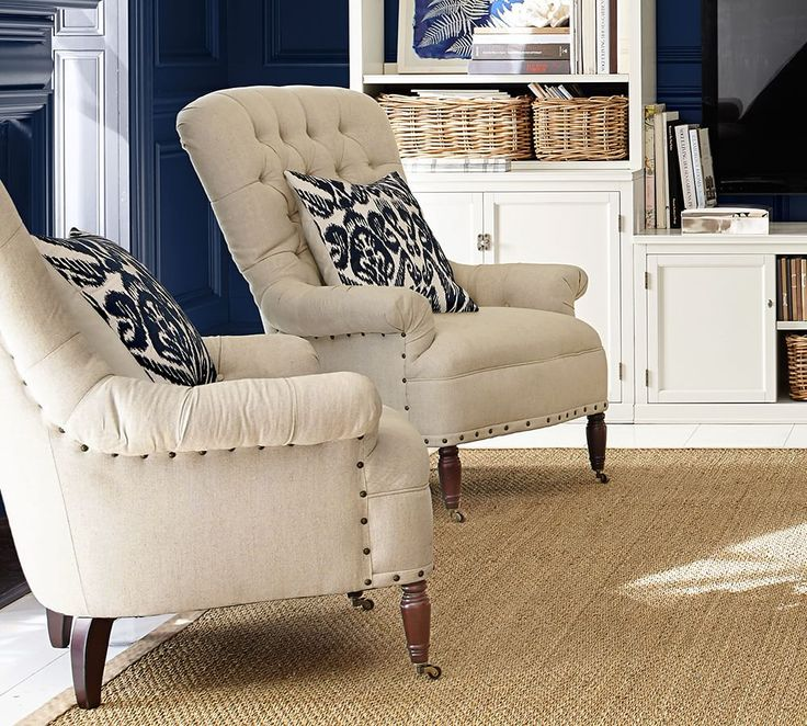 Make Your Home Feel Extra Cozy With Our Classic Upholstered Armchairs. Use  One As An. Spare Living Room ...