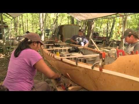 ... Canoe Building on Pinterest | Great auk, Wooden surfboard and Canoe