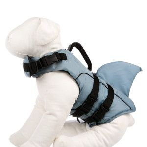 Top Paw® Shark Fin Dog Life Jacket | Life Jackets & Swimsuits | PetSmart