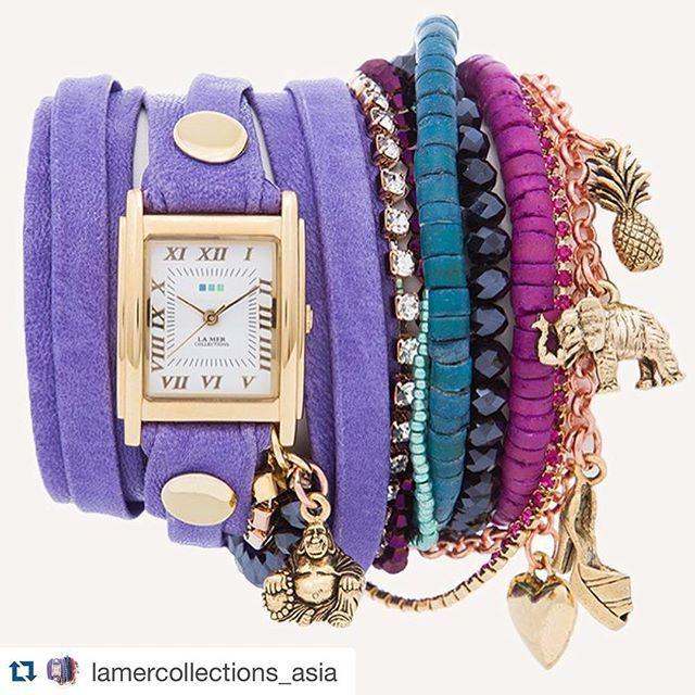 #Repost @lamercollections_asia with @repostapp.  Wrap of the day! Copacabana Stones Wrap!  #LAMERLOVE #lamercollections #lamer #lamerwatch #wanderlust #wrapwatch #wrapoftheday #madeinUsa #madeinamerica #madeinla #california #travel #adventure #inspire #love #fashion #southeastasia #indonesia #singapore #malaysia #shopbebop