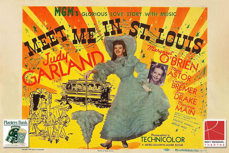 "Planters Bank Presents the movie ""Meet Me in St. Louis"" at the Roxy Regional Theatre"