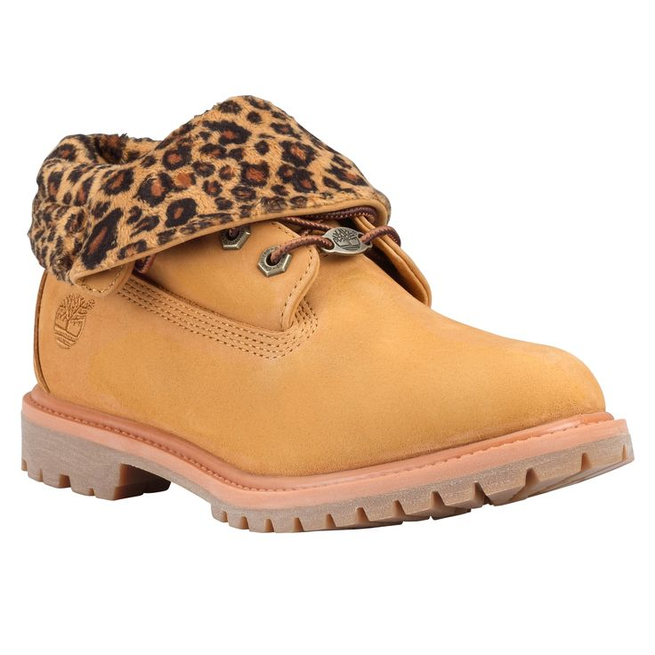 timberland plaid roll top boots women 9