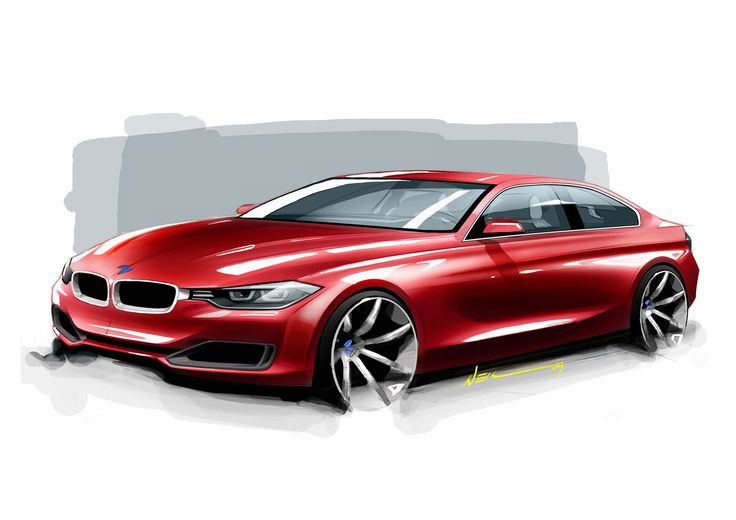 BMW 3 Series sketch