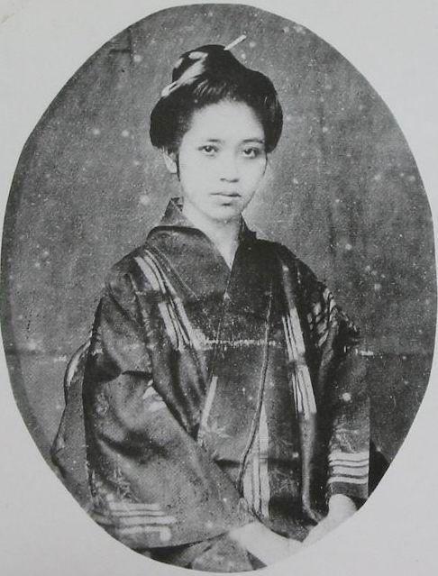 singer ryukyu about1870, Japan