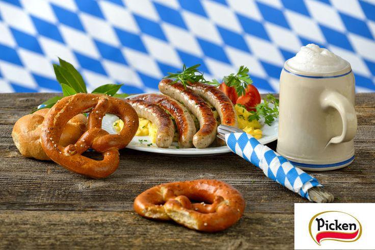 En Munich se está celebrando la #OktoberFest, la fiesta por excelencia de la #cerveza y las #salchichas alemanas.   La receta de nuestras salchichas #Picken #Bratwurst, #Frankfurt y #Bockwurst, fue un secreto guardado por los maestros charcuteros alemanes durante generaciones. Su composición y especiado hacen que tengan un sabor único que convierte cualquier #comida en un auténtico placer.