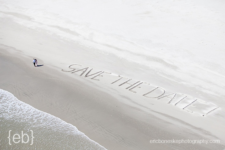 """Wow... this is cool! What a great idea for a wedding """"Save the Date"""" picture!    Eric #Boneske Photography Wilmington NC"""