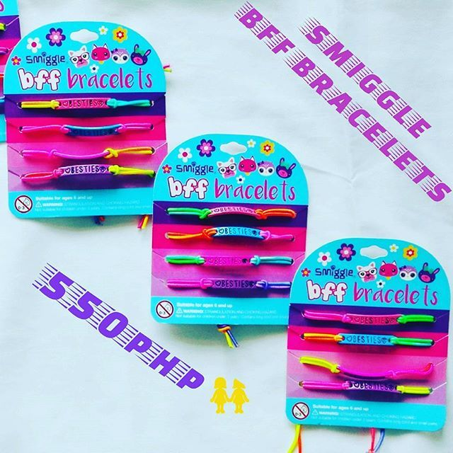 550php  BFF BRACELETS **BESTSELLER 🎄KIDS THAT WOULD LOVE TO GIVE FOR THEIR BFF THIS COMING CHRISTMAS🎄 📲 Viber: 0995 9608797 🌐 FB: Lozada Ann (Smiggle Collections Manila) 📥 DM: @smiggle_sale_ph 💸Metrobank BDO Account  #smigglecollectionsmanila #smigglesaleph