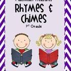 Rhymes and Chimes to go with each weekly phonics skill in the Macmillan Treasures reading curriculum.Each poem is typed up and has the instuction...