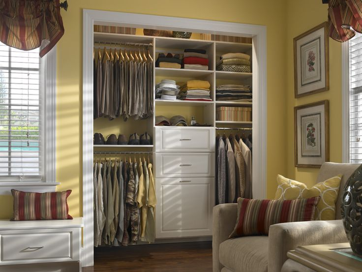 Living Room Closet Design Prepossessing 186 Best Closet Ideas Images On Pinterest  Organizers Bedroom Decorating Design