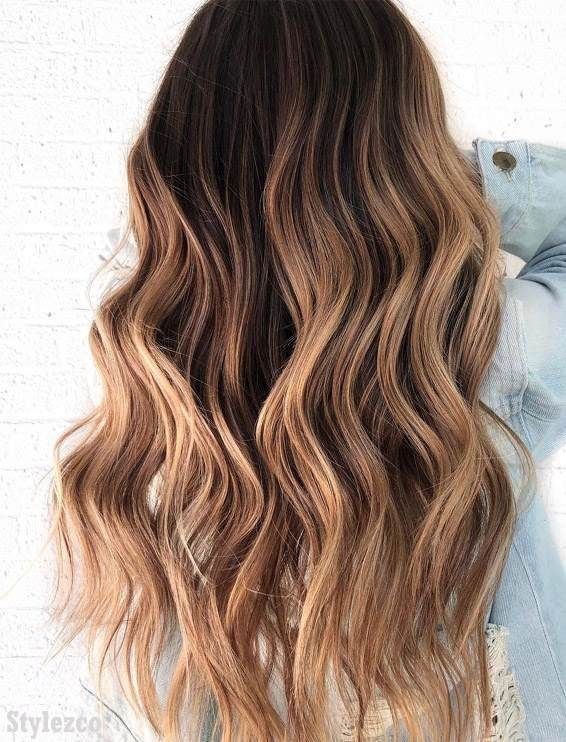 Best Brown Hair Color Shades For Long Hair Hair Color Highlights Long Hair Styles Brown Hair Colors