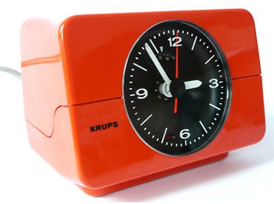 Krups 1970s analogue alarm clock