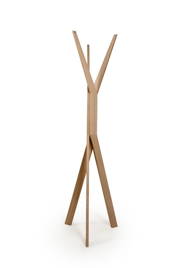 JAVORINA :: Masívny dubový vešiak Forcone | Solid oak Clothes stand Forcone http://shop.javorina.eu/