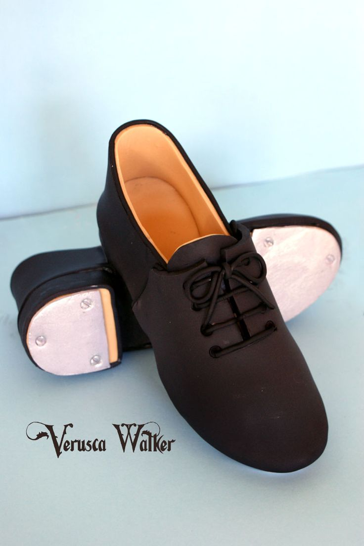 Tap shoe or Man's shoe by Verusca Walker With tutorial