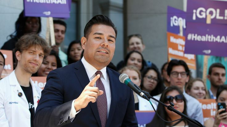 """Sen. Ricardo Lara (D-Bell Gardens) (Rich Pedroncelli / Associated Press)  Thatcher """"The problem with socialism is that you run out of other peoples money""""  We see this clearly in CA."""