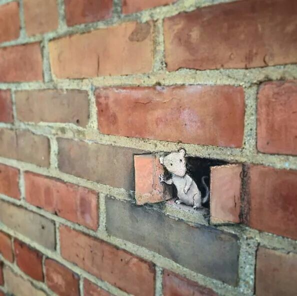 Amazing 3D street art by David Zinn.