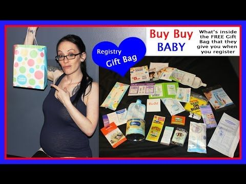 Baby Registry Gift Bag What S Inside The Free That Pregnancy Pinterest And