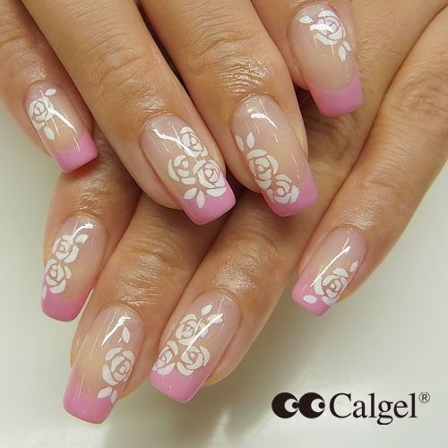 Cal Gel Nail: 55 Best Images About Calgel- Design Options. On Pinterest