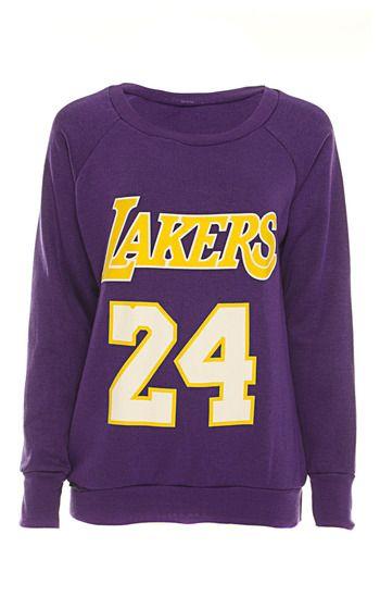 Cara Lakers 24 Sweater