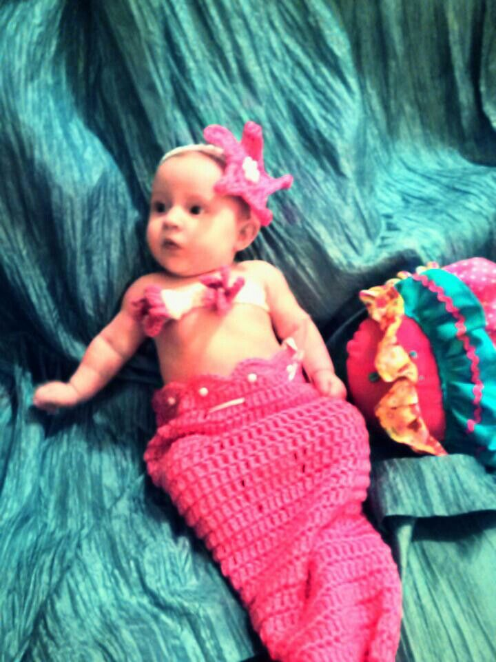 Baby mermaid photo