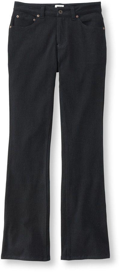 Women's Comfort Knit Jeans, Classic Fit Boot-Cut