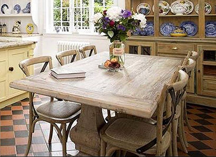 Best Our Future Dining Room Images On Pinterest Dining Room - Chantilly distressed dining table by little tree furniture