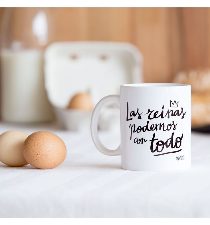 Taza desayuno Las Reinas Podemos con Todo - Pedrita Parker #mug #taza