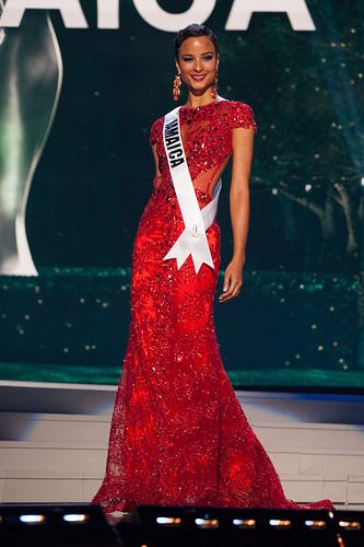 Miss Universe Jamaica 2014 Kaci Fennell - Preliminary Competition
