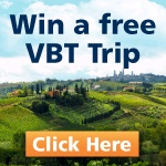 Win a Tuscany Vacation from VBT Vacations. Enter at the Boston Wine Expo.