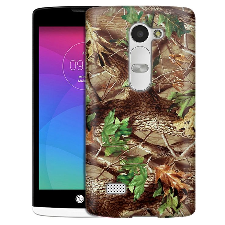 LG Leon Real Tree Camouflage Hunter Slim Case